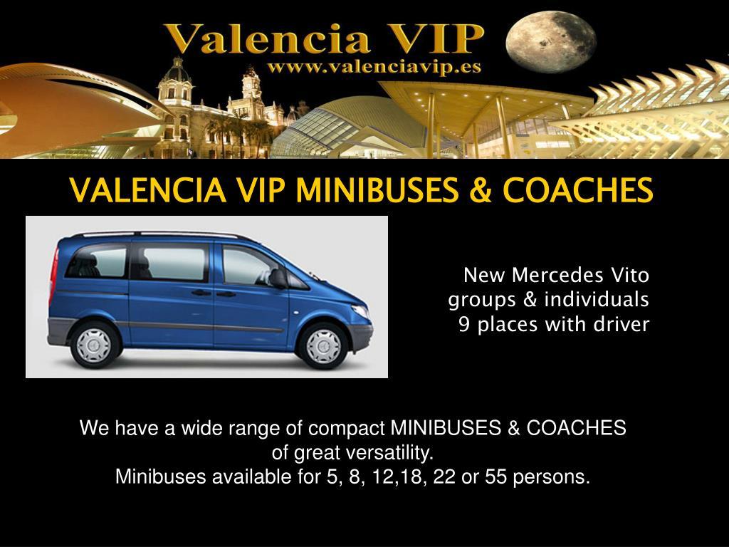 VALENCIA VIP MINIBUSES & COACHES