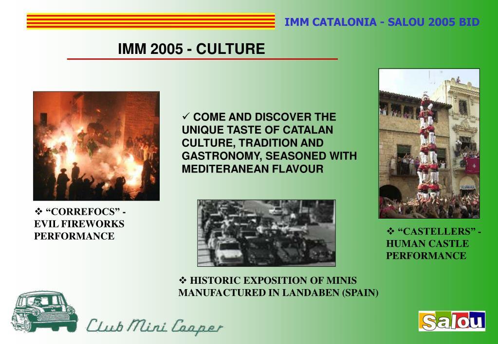 IMM 2005 - CULTURE