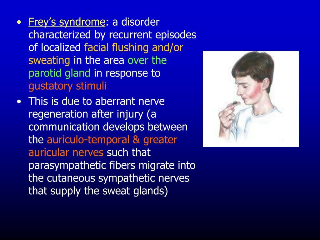 Frey's syndrome