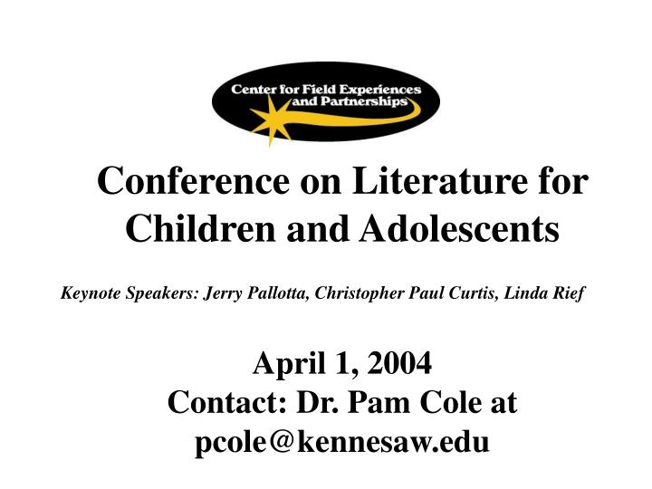 Conference on Literature for Children and Adolescents