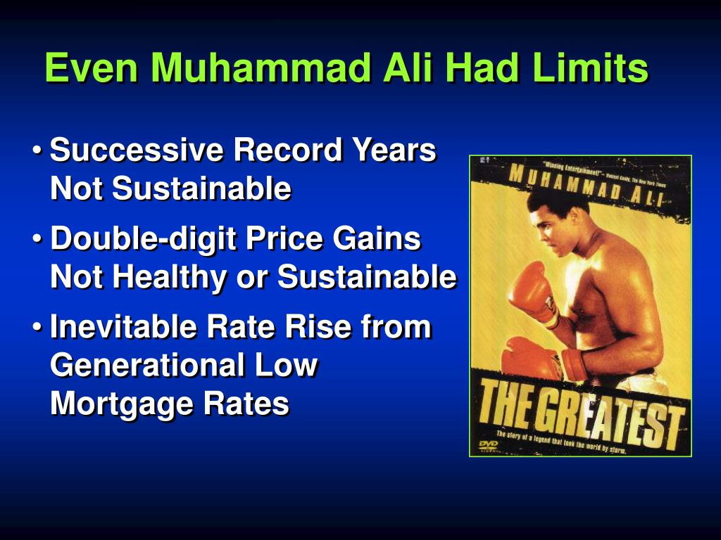 Even Muhammad Ali Had Limits