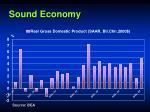 sound economy