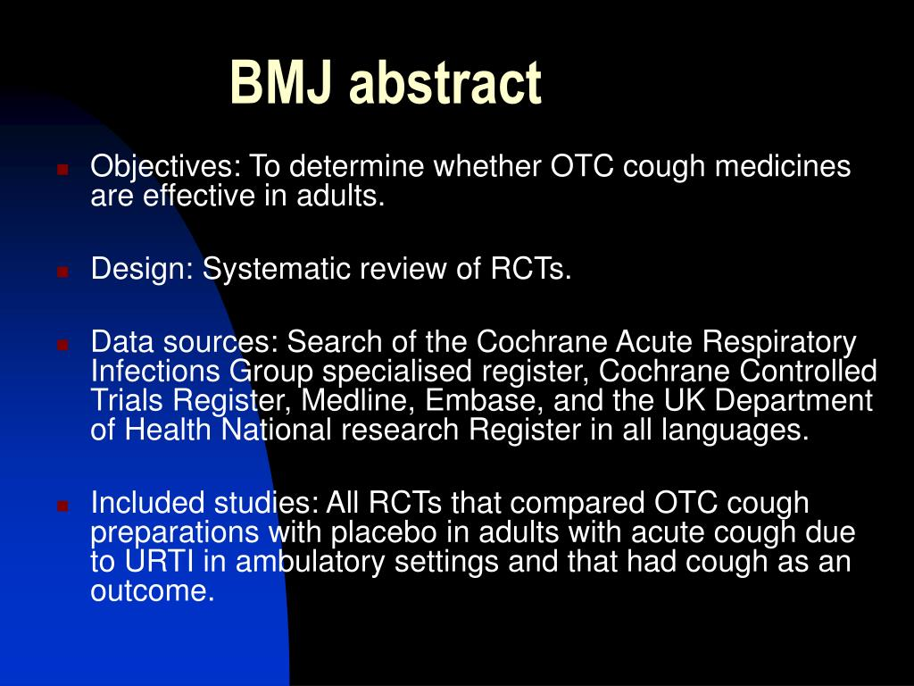 BMJ abstract