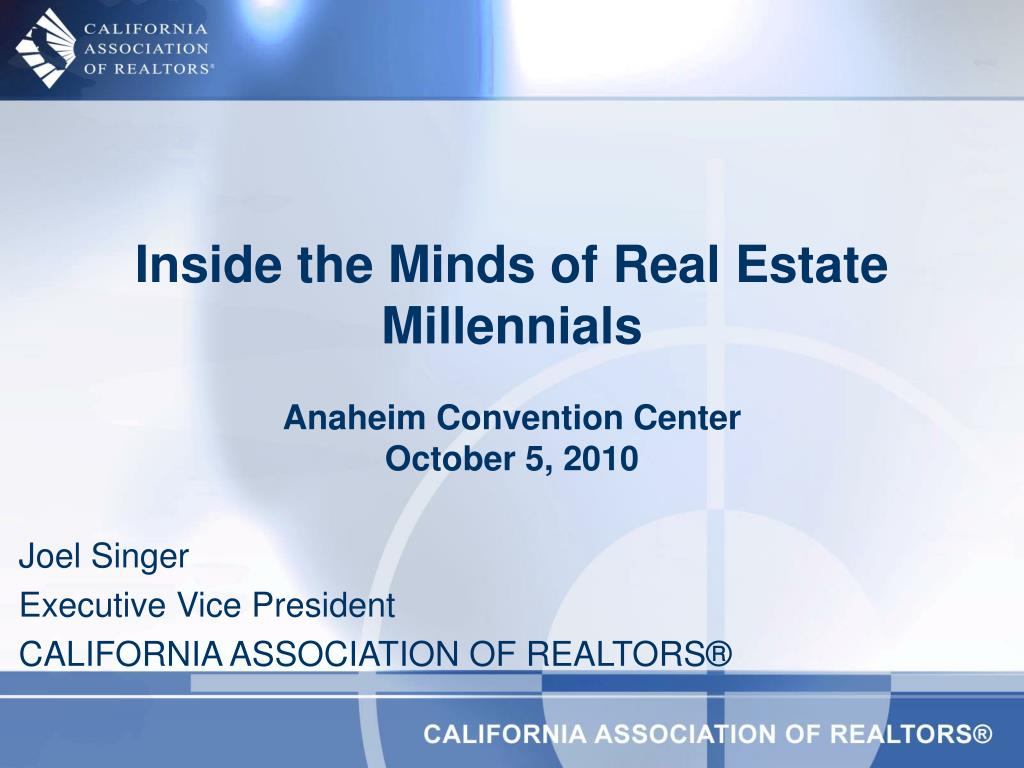Inside the Minds of Real Estate Millennials