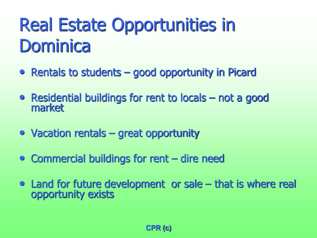 Real Estate Opportunities in Dominica