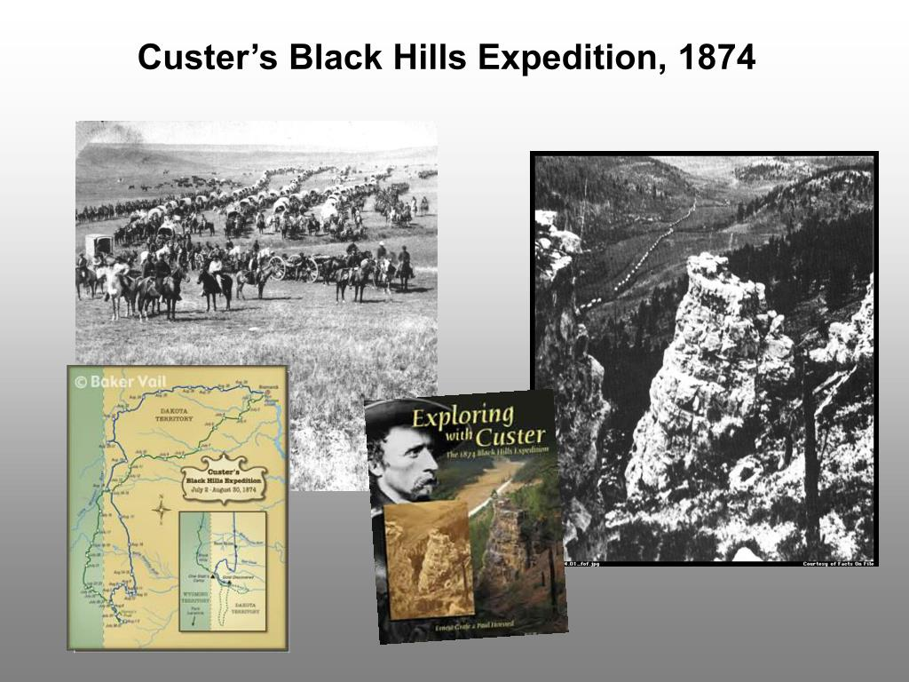 Custer's Black Hills Expedition, 1874