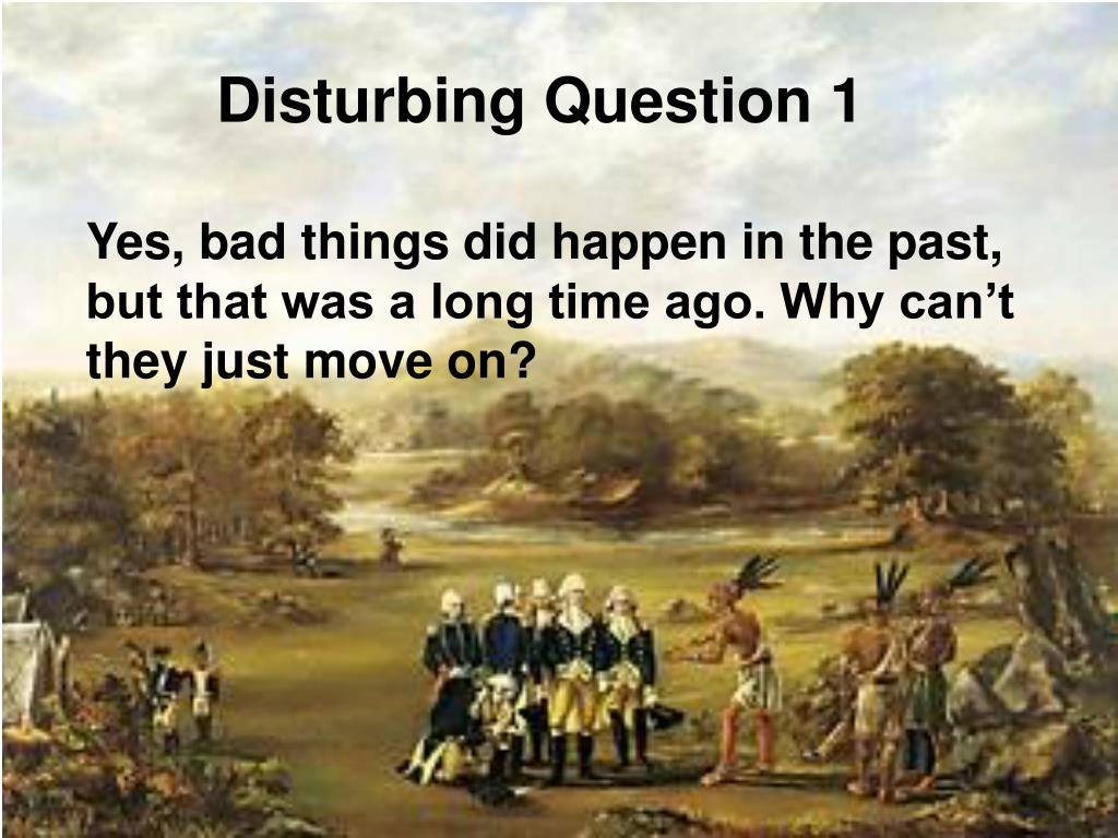 Disturbing Question 1