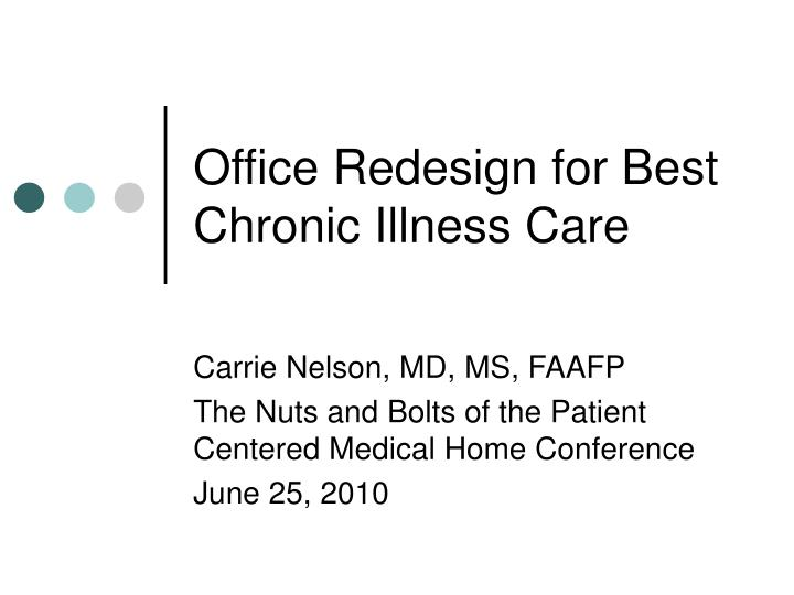Office redesign for best chronic illness care l.jpg