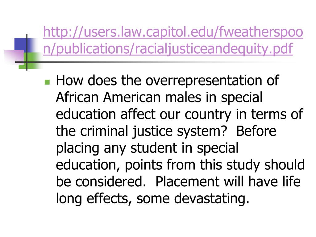 http://users.law.capitol.edu/fweatherspoon/publications/racialjusticeandequity.pdf