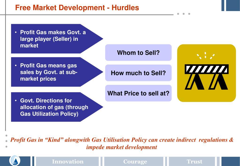 Free Market Development - Hurdles
