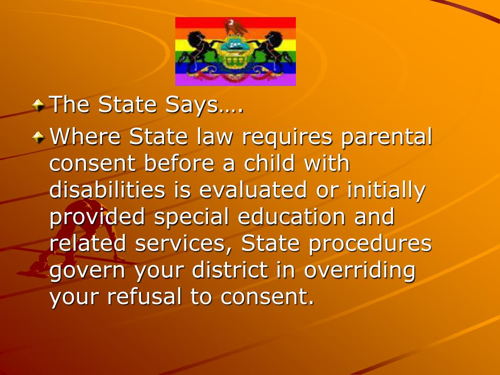 The State Says….