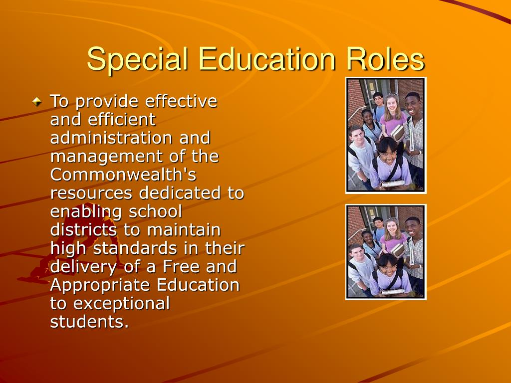 Special Education Roles