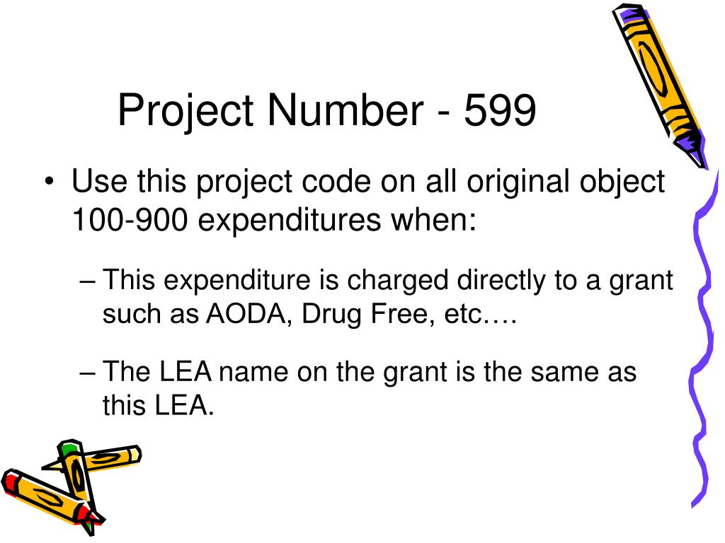 Project Number - 599