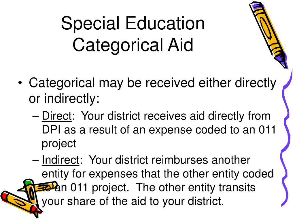 Special Education Categorical Aid