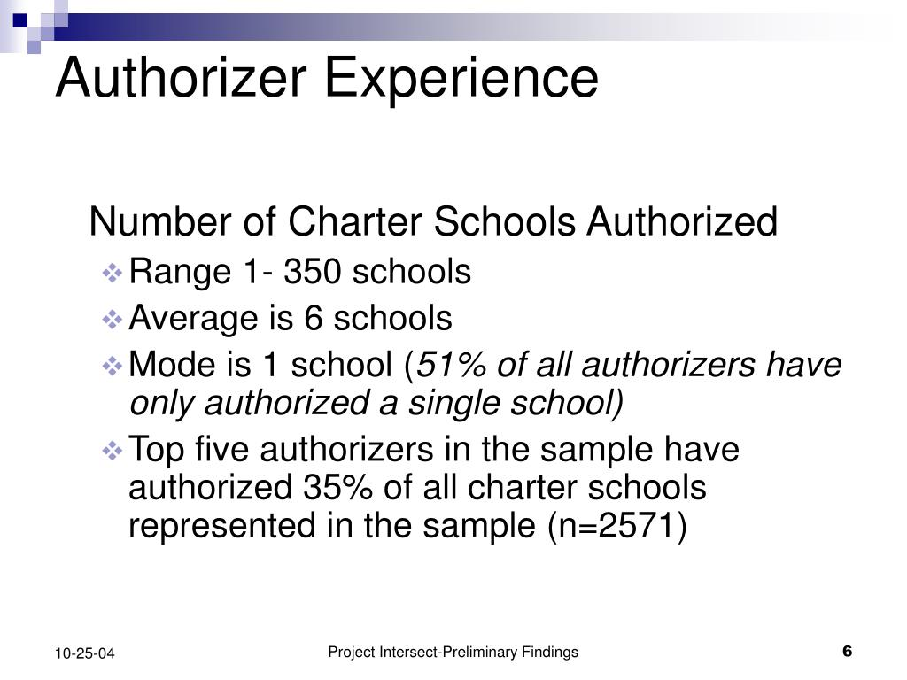 Authorizer Experience