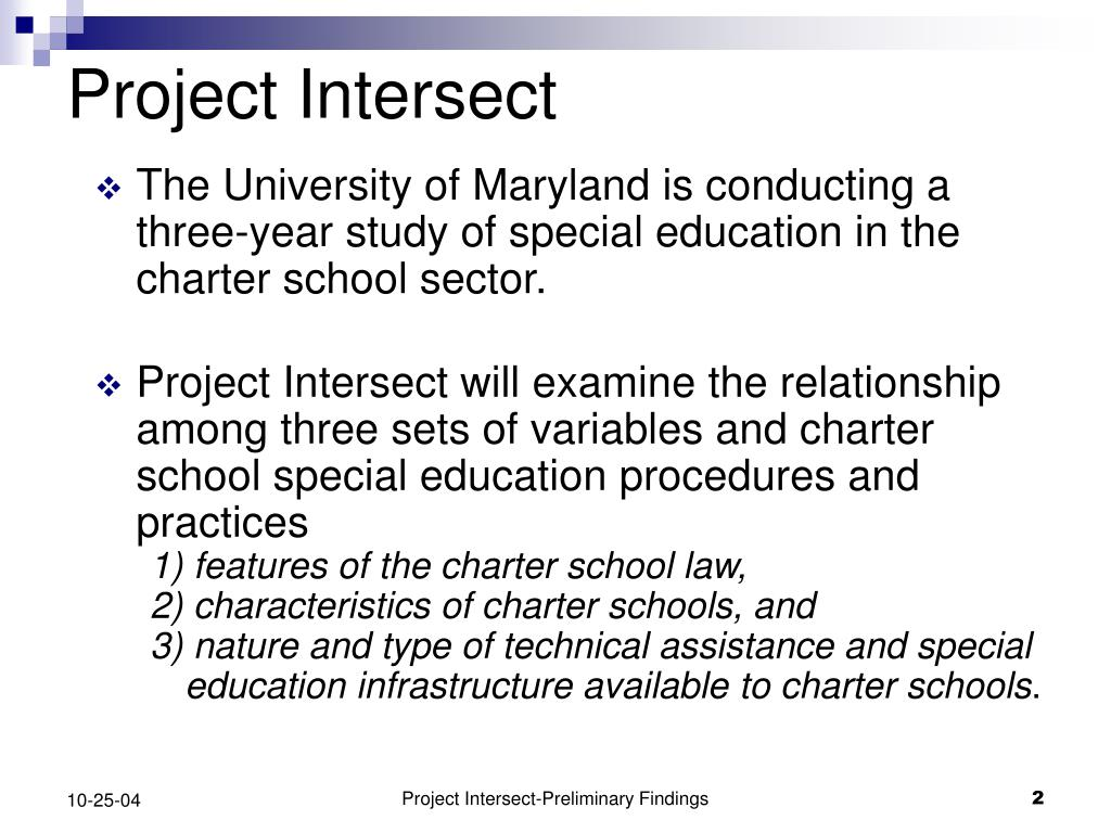 Project Intersect