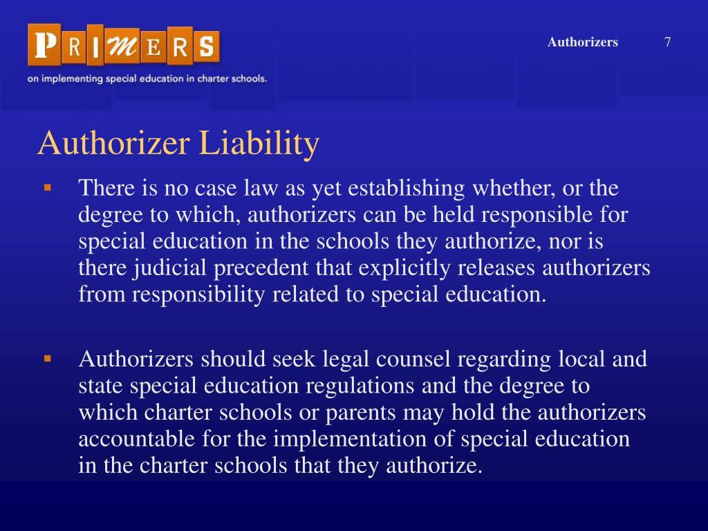 Authorizers