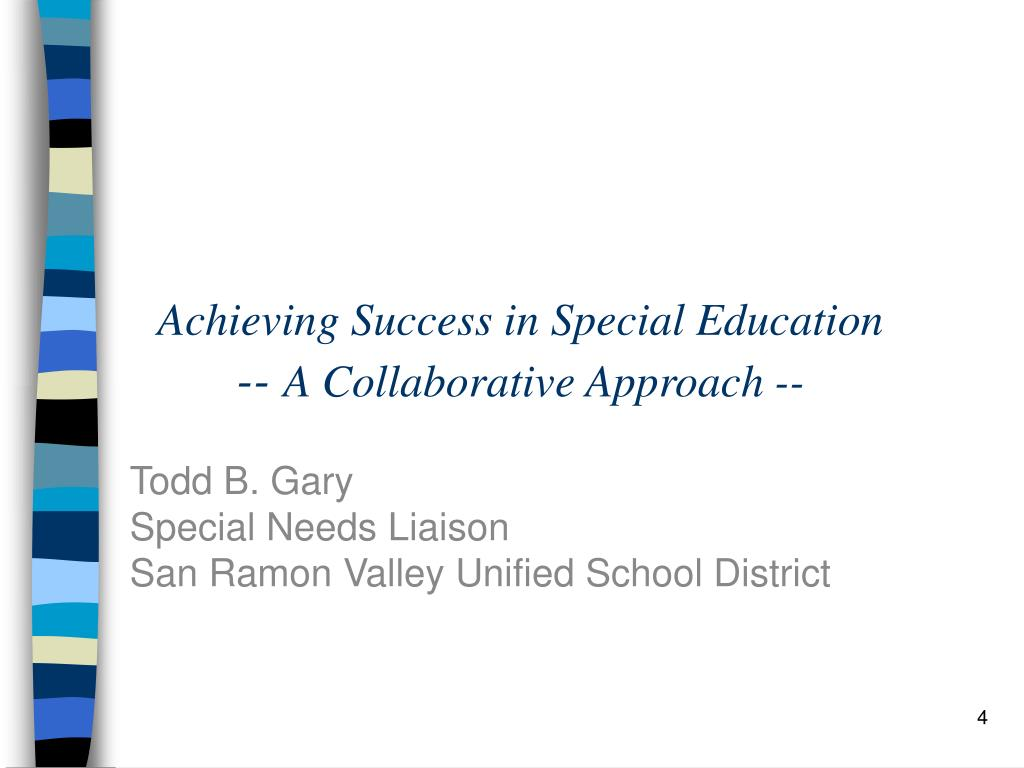 Achieving Success in Special Education