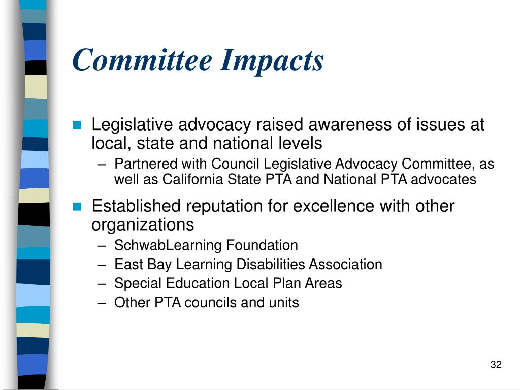 Committee Impacts