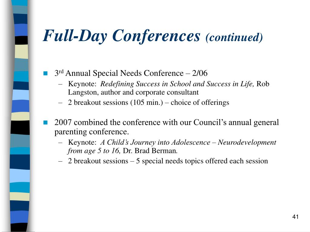 Full-Day Conferences