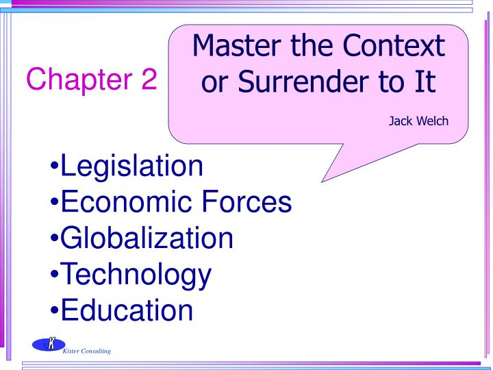 Master the Context or Surrender to It