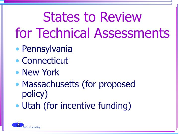 States to Review