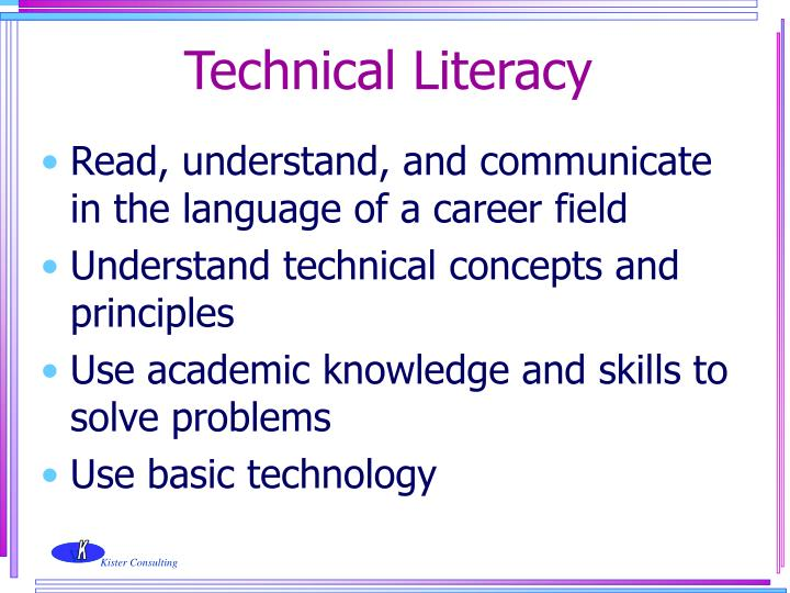 Technical Literacy