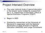 project intersect overview