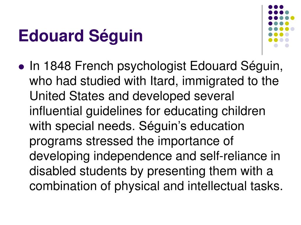 Edouard Séguin