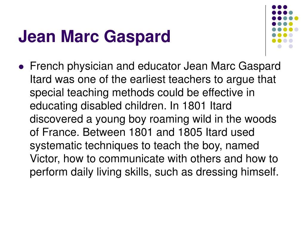 Jean Marc Gaspard