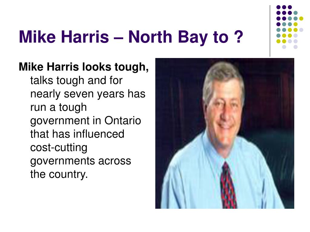 Mike Harris looks tough,