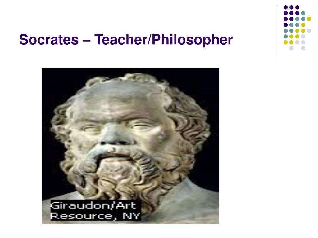 Socrates – Teacher/Philosopher