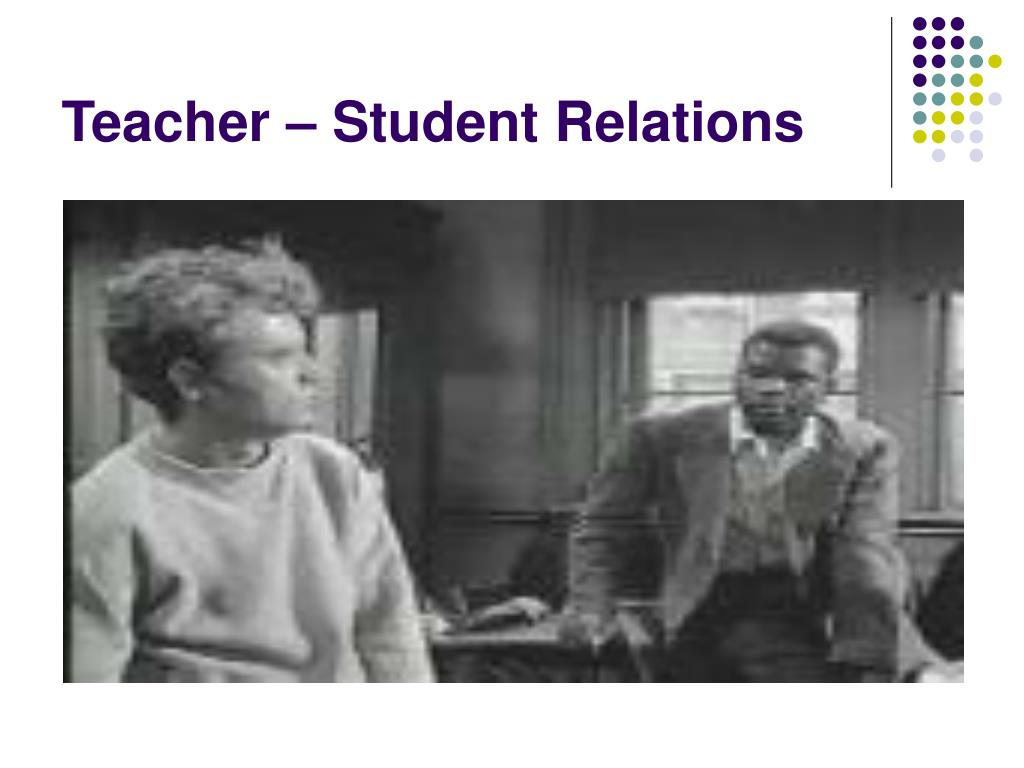 Teacher – Student Relations