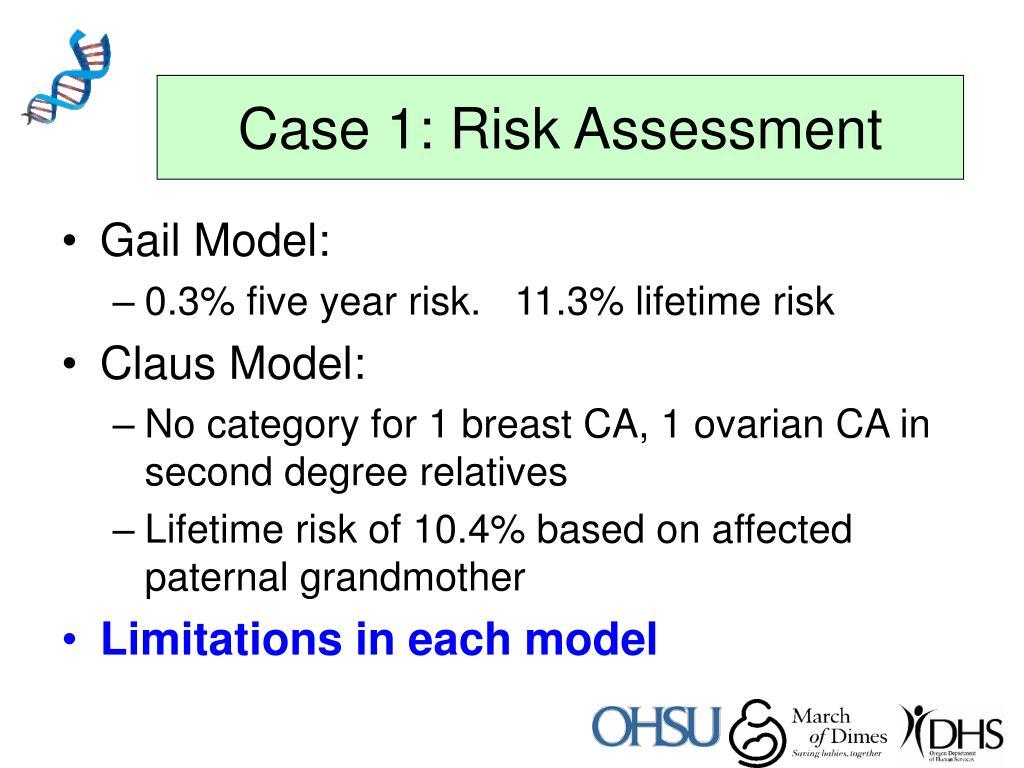 Case 1: Risk Assessment