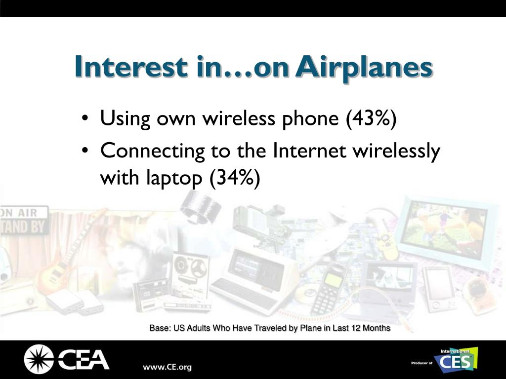 Interest in…on Airplanes