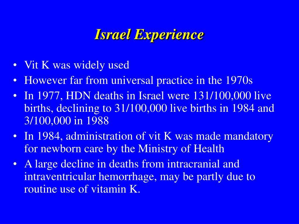 Israel Experience