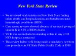 new york state review