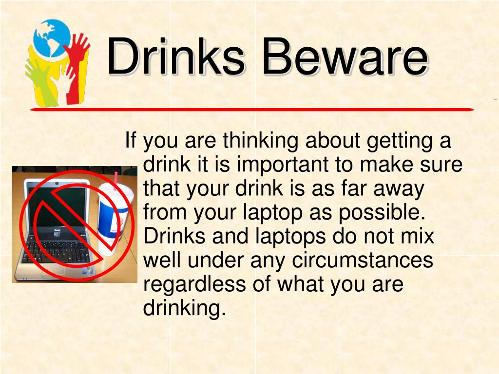 Drinks Beware