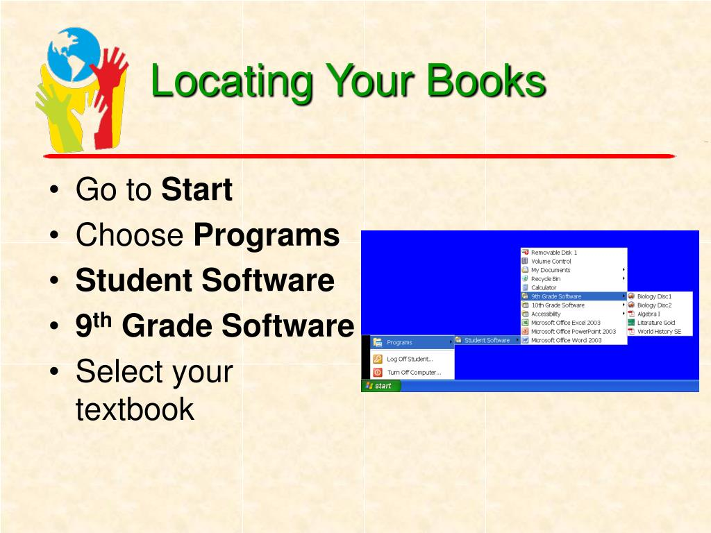 Locating Your Books