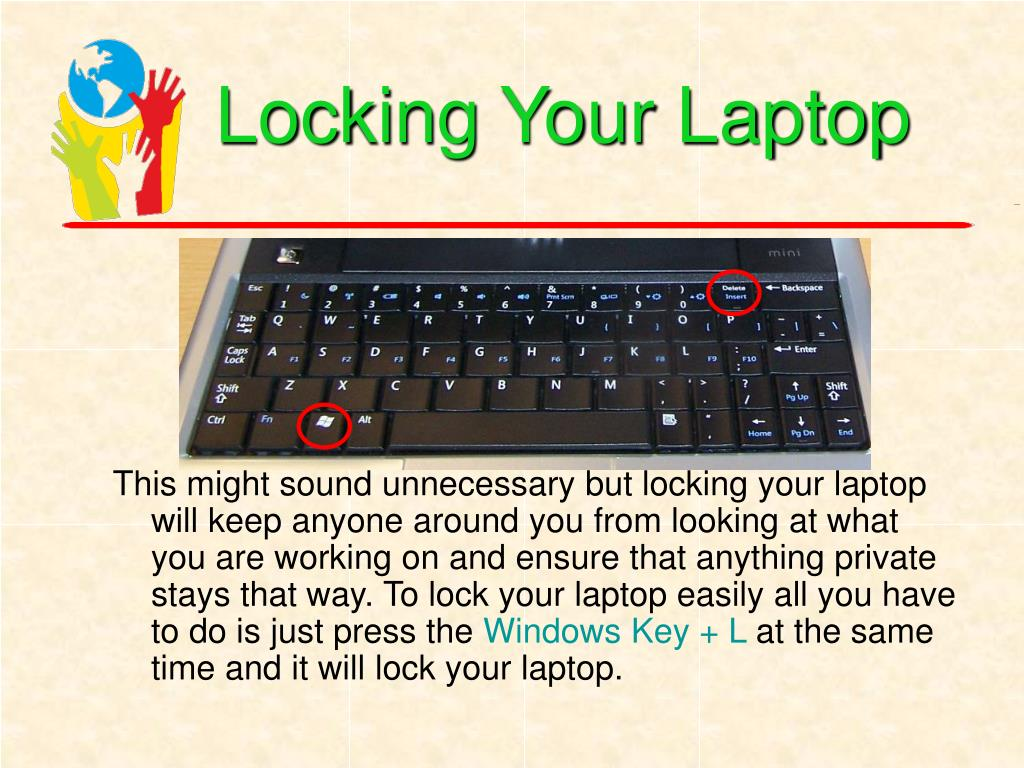 Locking Your Laptop