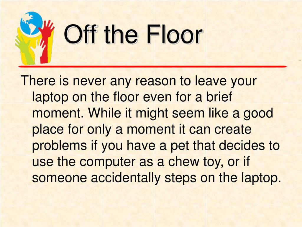 Off the Floor