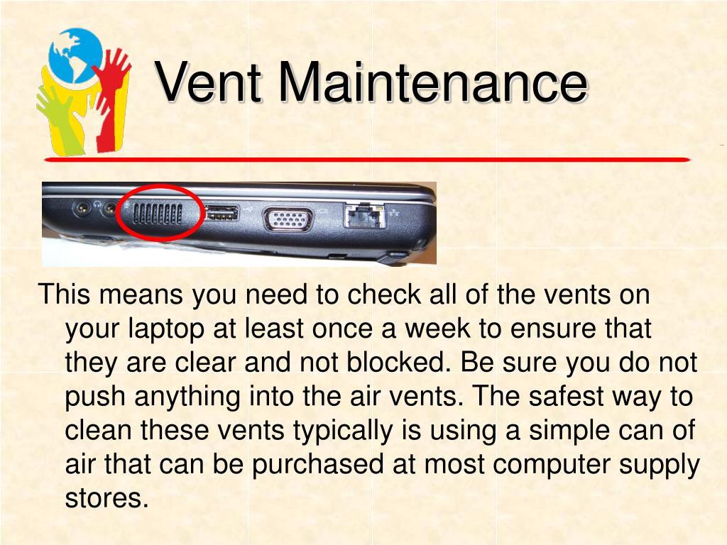 Vent Maintenance