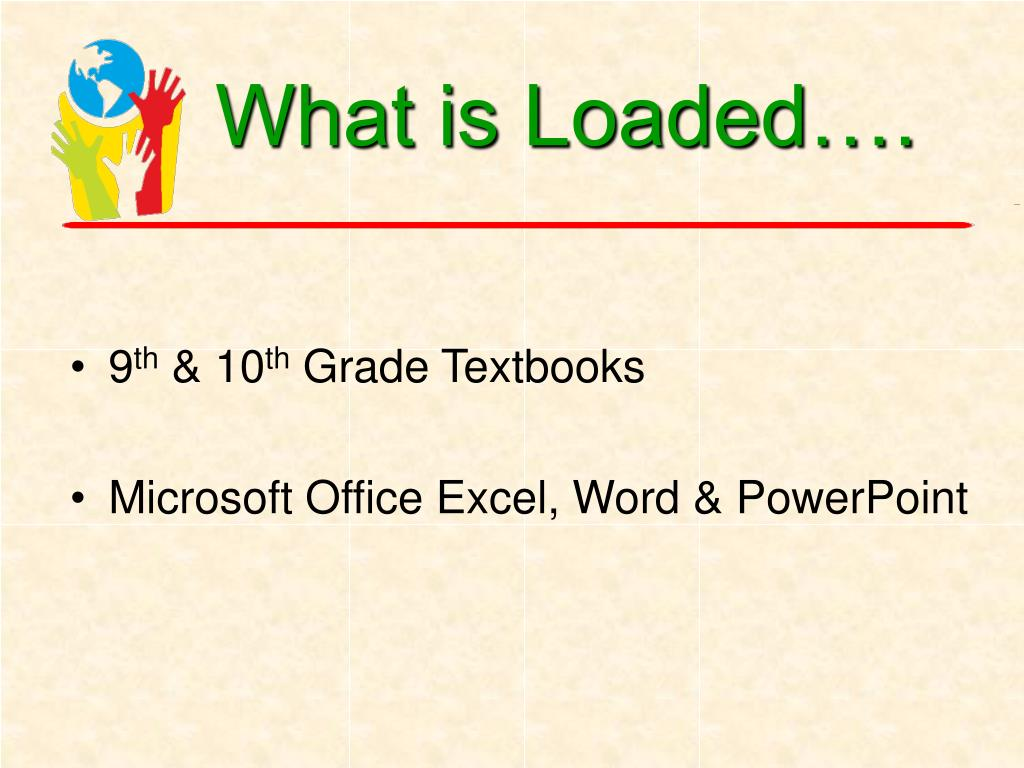 What is Loaded….