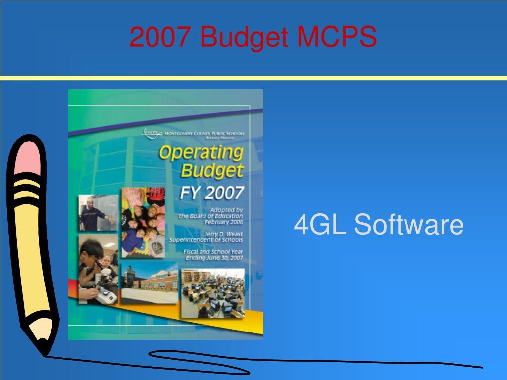 4GL Software