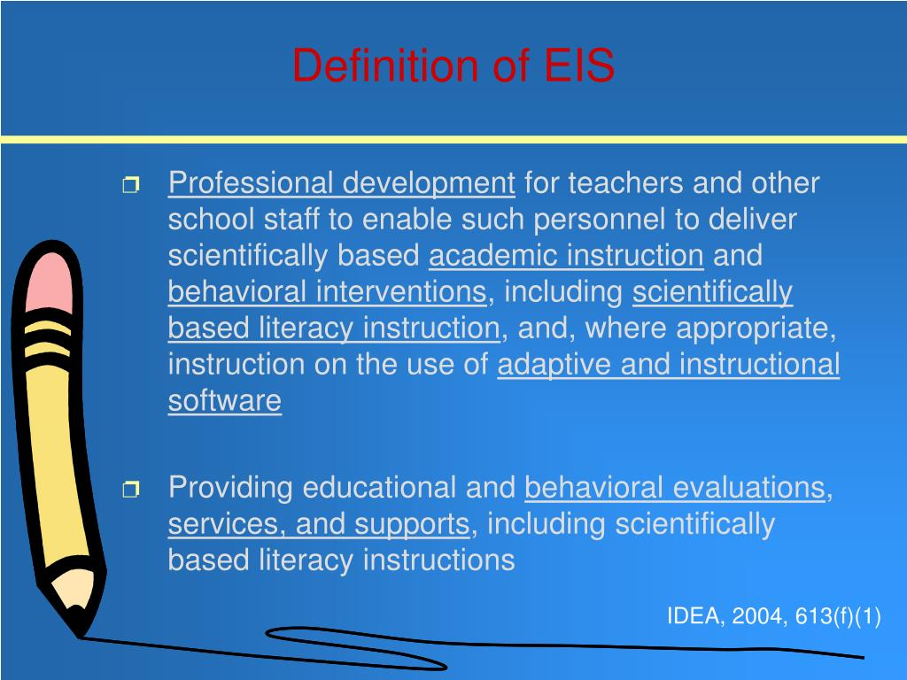 Definition of EIS