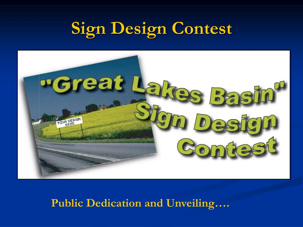 Sign Design Contest