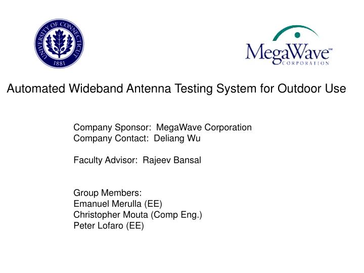 Automated Wideband Antenna Testing System for Outdoor Use