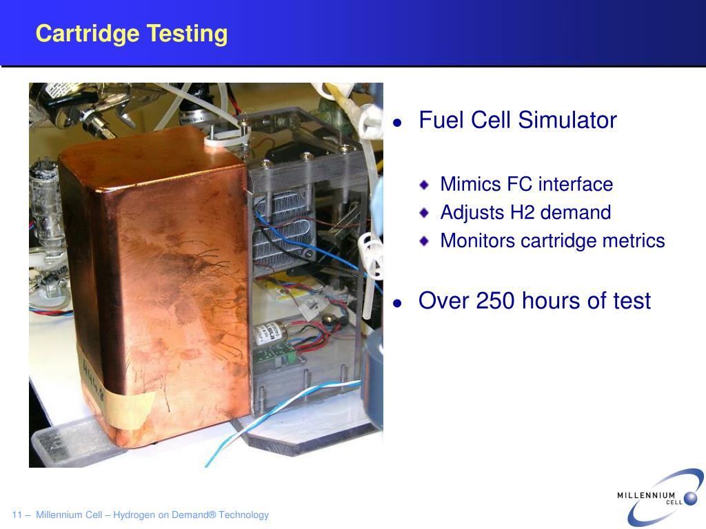 Cartridge Testing