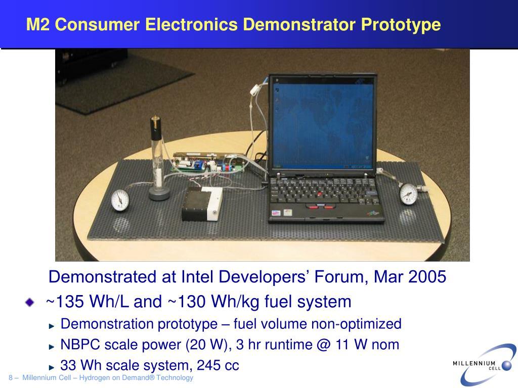 M2 Consumer Electronics Demonstrator Prototype