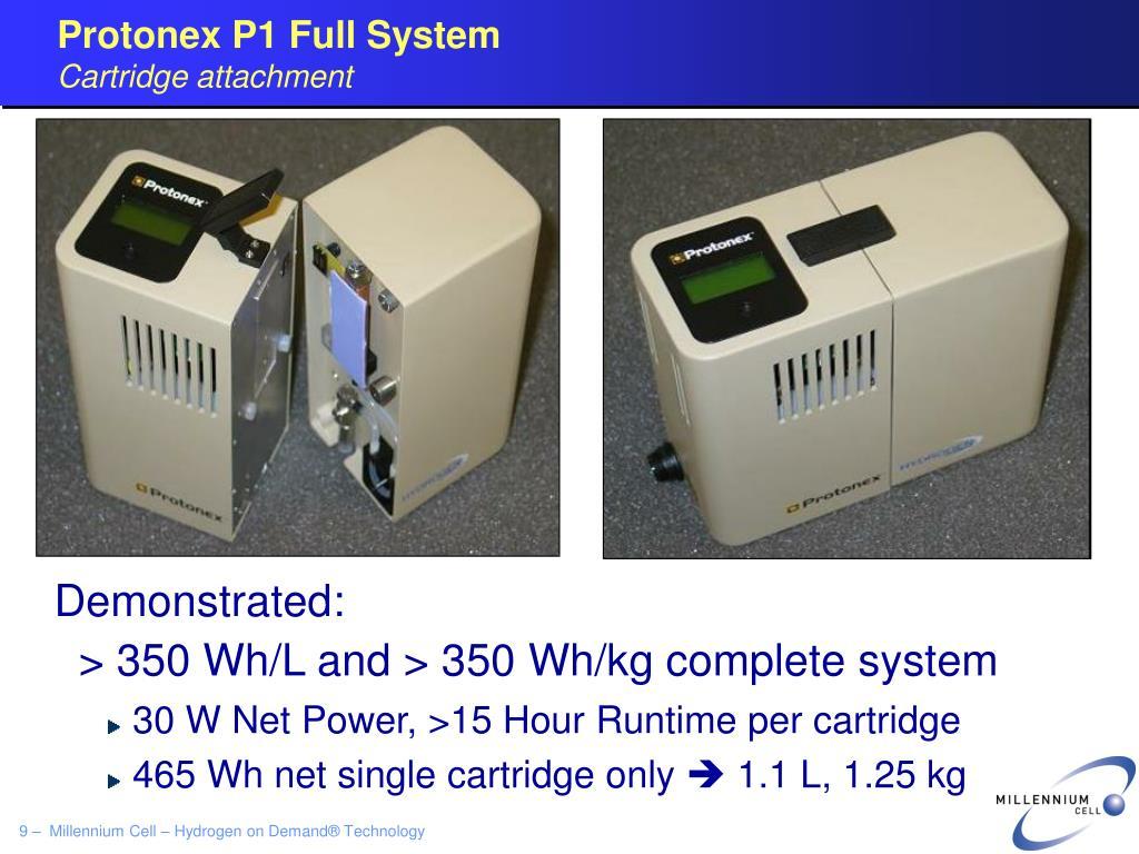 Protonex P1 Full System